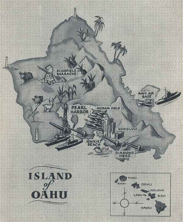 Island of Oahu.