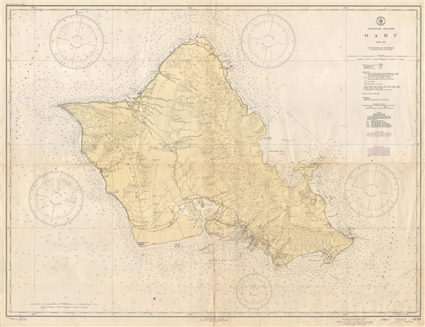 Hawaiian Islands Oahu. - Main View