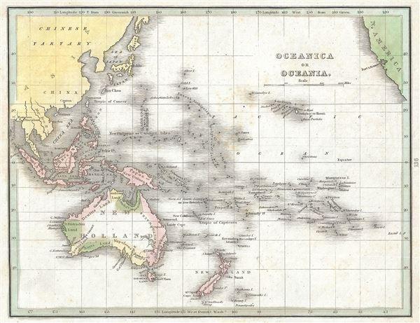Oceanica or Oceania.