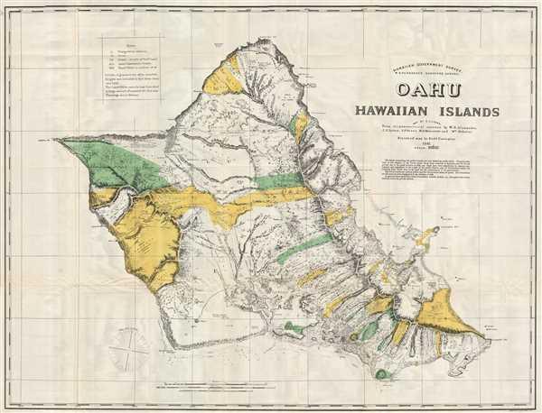 Oahu, Hawaiian Islands.
