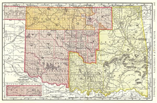 Oklahoma.  Indian Territory.