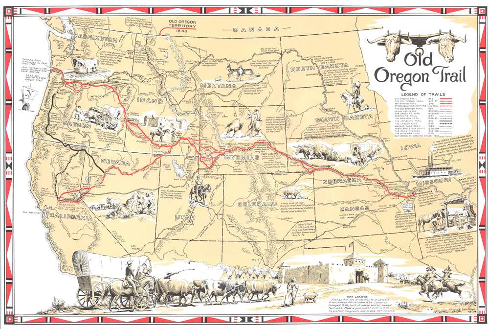 Old Oregon Trail. - Main View