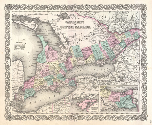 Canada West or Upper Canada. - Main View