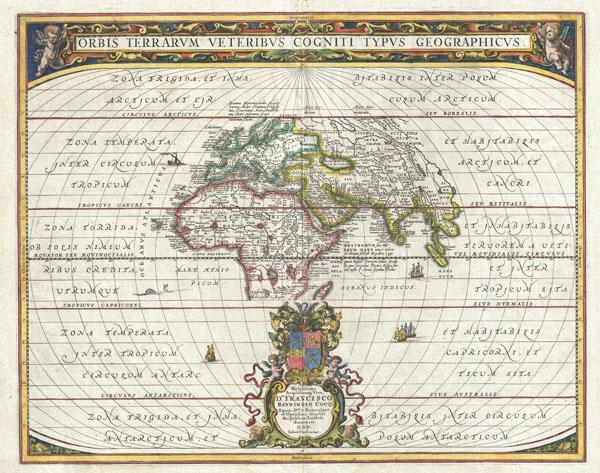 Orbis Terrarus Veteribus Cogniti Typus Geographicus.