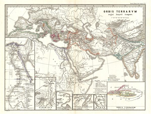 Orbis Terrarvm regni Assyrii tempore