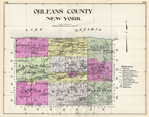 Orleans County New York. - Main View