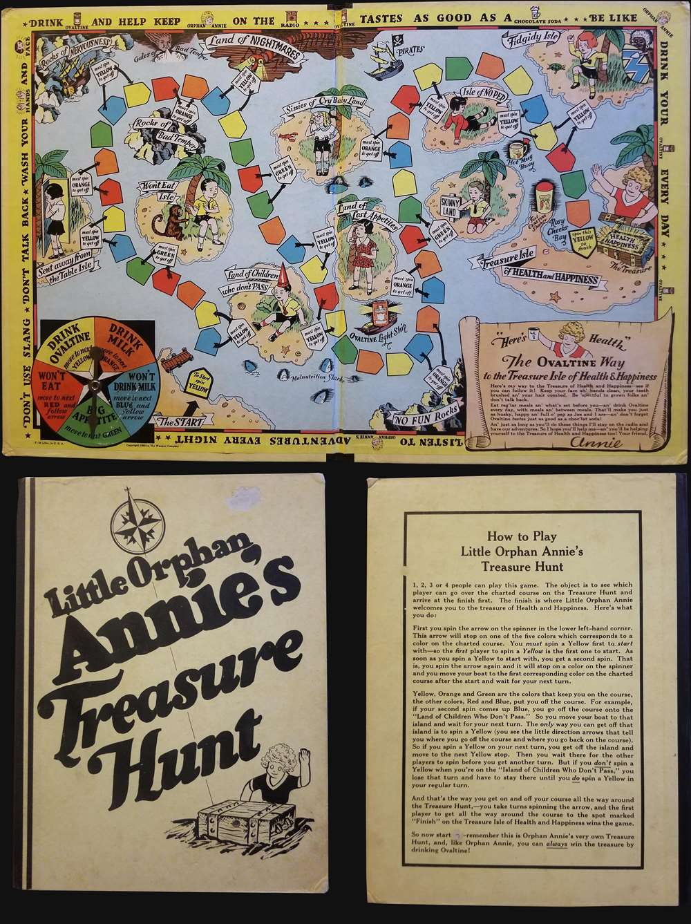 Little Orphan Annie's Treasure Hunt.