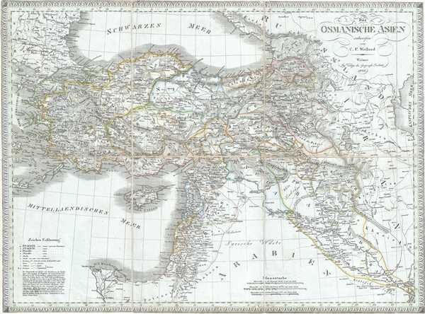 Das Osmanische Asien.