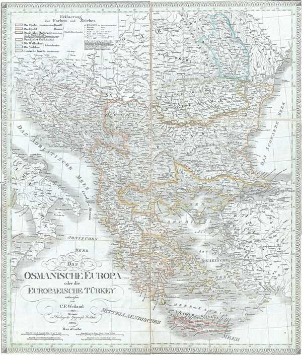 Das Osmanische Europa oder die Europaeische Turkey.