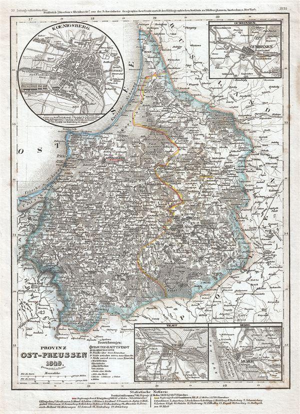 Provinz Ost-Preussen.
