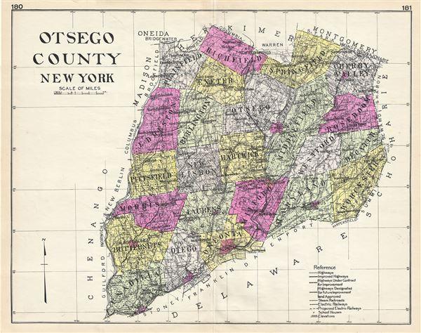 Otsego County New York. - Main View
