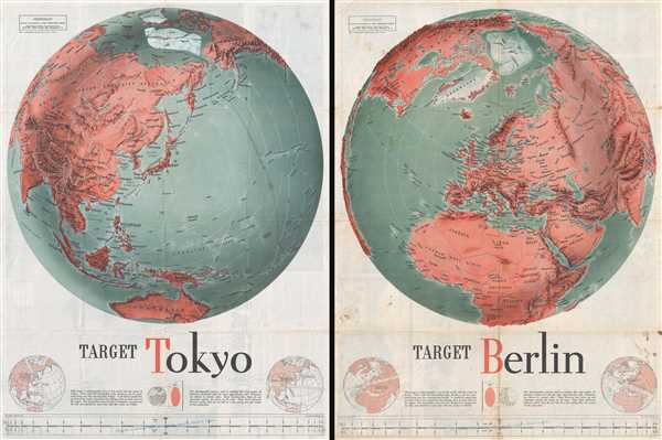 Target Tokyo; Newsmap. Monday, October 18, 1943. / Target Berlin; Newsmap. Monday, October 25, 1943. - Main View