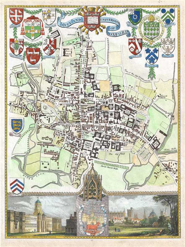 City and University of Oxford.