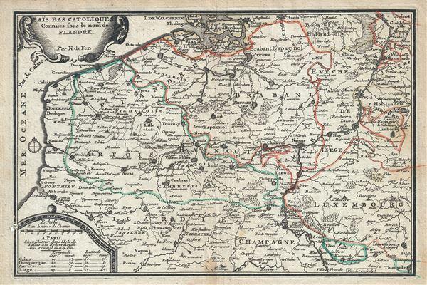 Pais Bas Catoliques Connues sous le nom de Flandre.