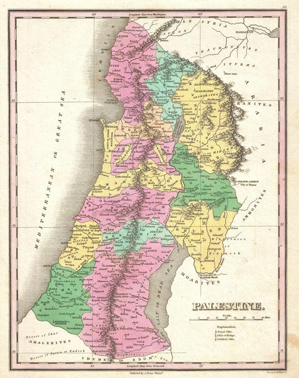 Palestine. - Main View