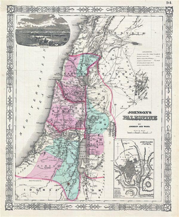 Johnson's Palestine. - Main View