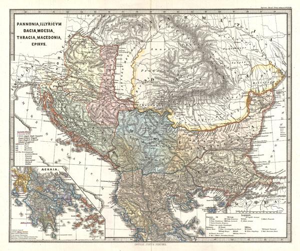 Pannonia, Illyricum, Dacia, Moesia, Thracia, Macedonia, Epirus.