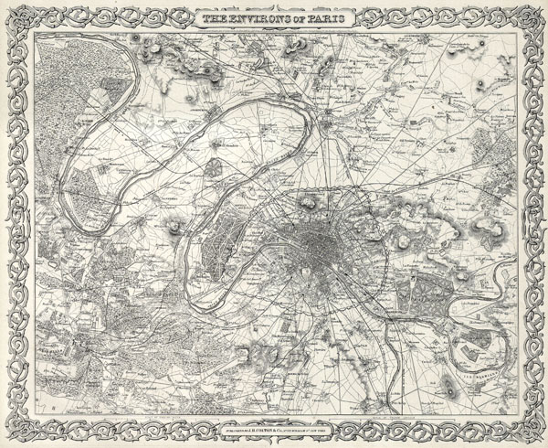 The Environs of Paris - Main View
