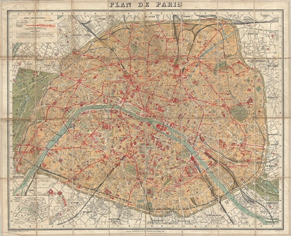 Plan de Paris.