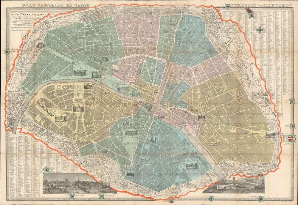 Plan garanti complet ou le guide dans Paris. - Main View