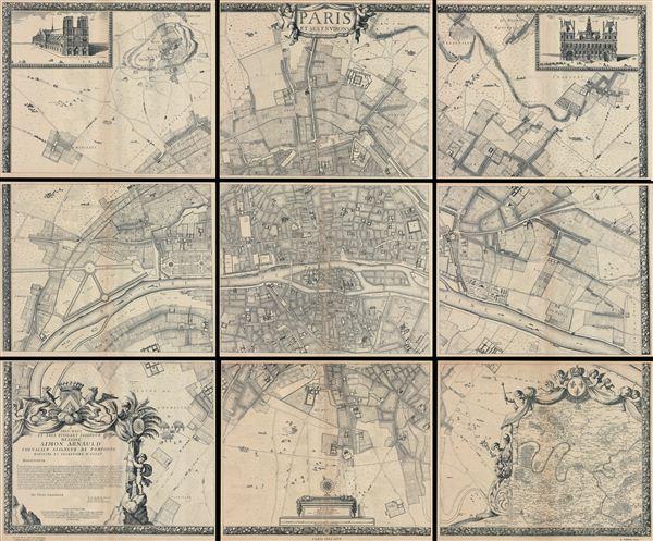 Paris et ses Environs. - Main View