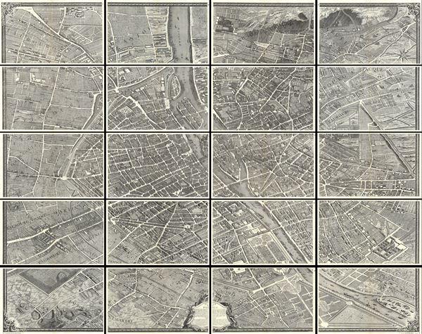 Plan de Paris. - Main View