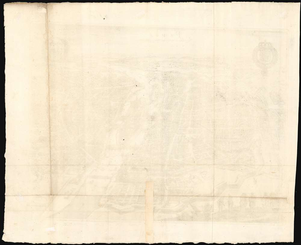 Paris Wie wie solche Ao. 1620 im Wessen gestanden. - Alternate View 2