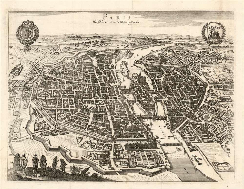 Paris Wie wie solche Ao. 1620 im Wessen gestanden. - Main View