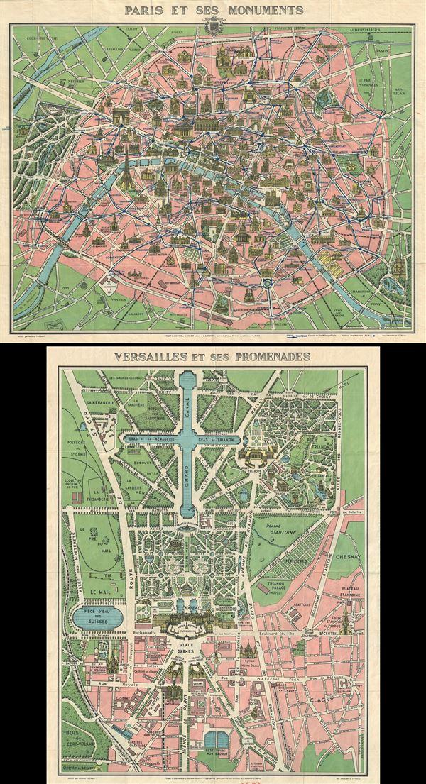 Paris et ses Monuments. - Main View