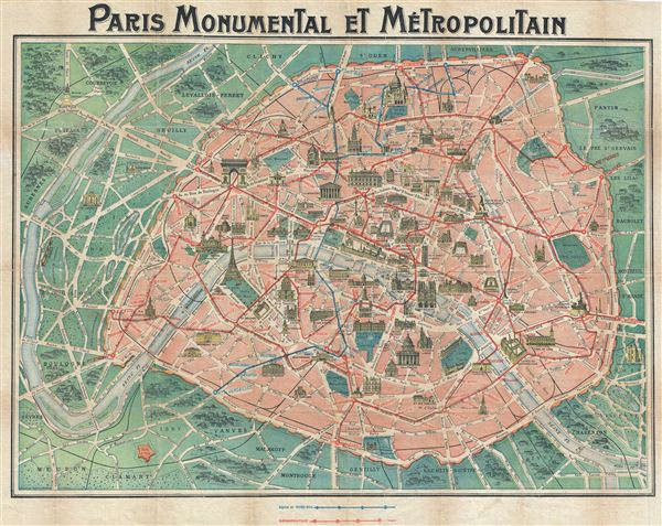 Paris Monumental et Metropolitain.