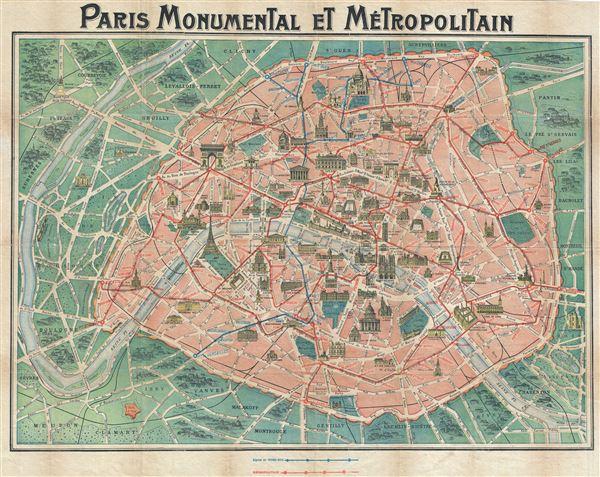 Paris Monumental et Metropolitain. - Main View