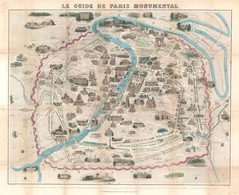 Le Guide de Paris Monumental. - Main View