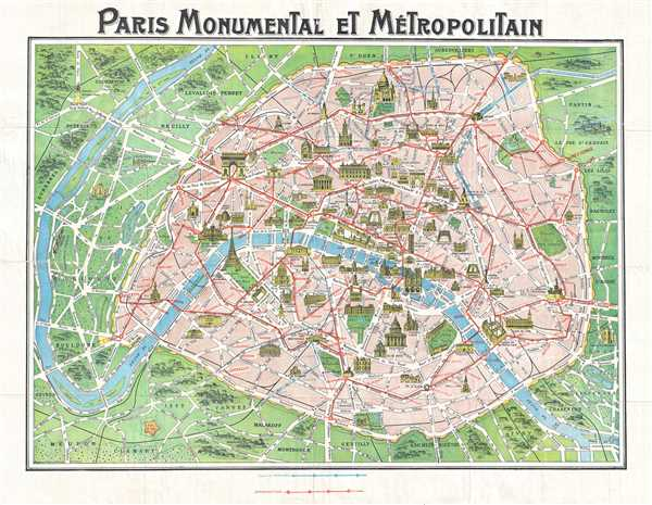Paris Monumental et Métropolitain.