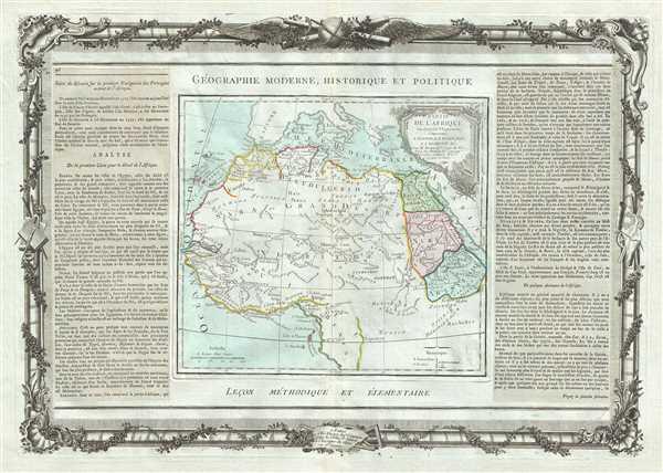 Partie De L'Afrique en deca de l'Equateur, Comprenant L'Egypte, La Barbarie, La Nigritie etc.