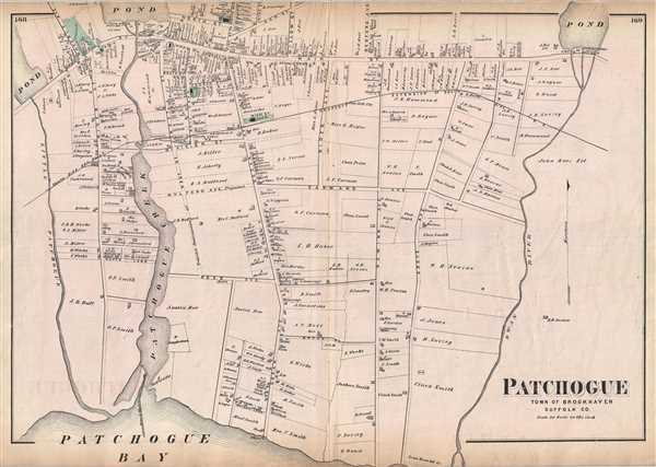 Patchogue Town of Brookhaven Suffolk Co.