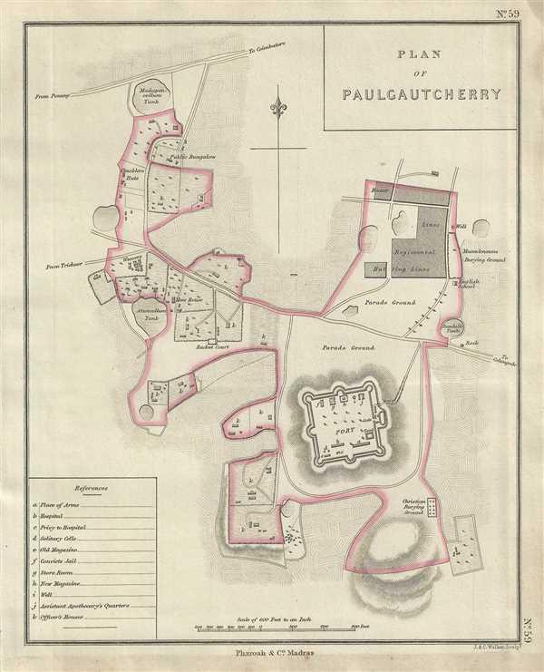 Plan of Paulgautcherry. - Main View