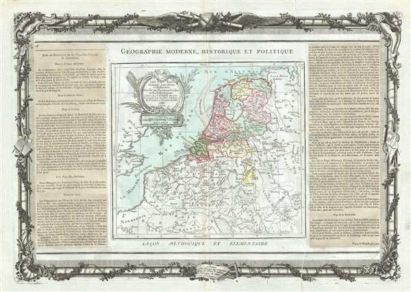 Les Pays Bas Francois, Autrichiens, et Hollandois.