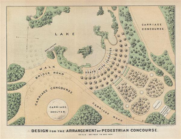 Design for the Arrangement of Pedestrian Concourse.