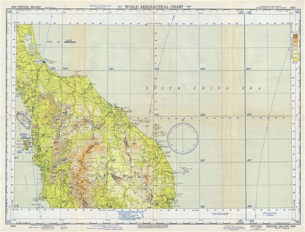 Penang Island Malaya-Thailand.