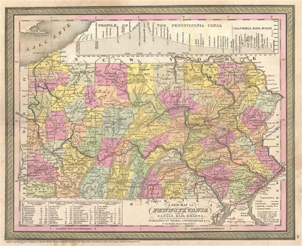 Map of Pennsylvania. - Main View