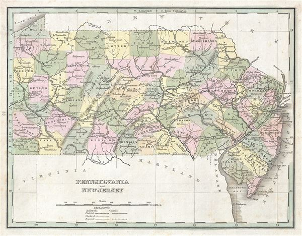 Pennsylvania and New Jersey. - Main View