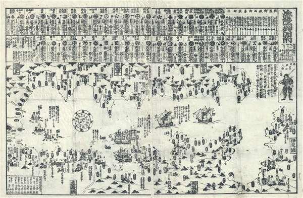 海陸御固附 / Kairiku Okatame Tsuke. / Concerning the Defense of Land and Sea.