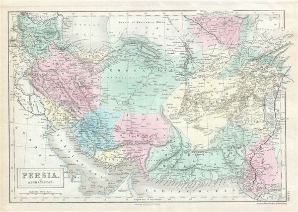 Persia and Afghanistan. - Main View