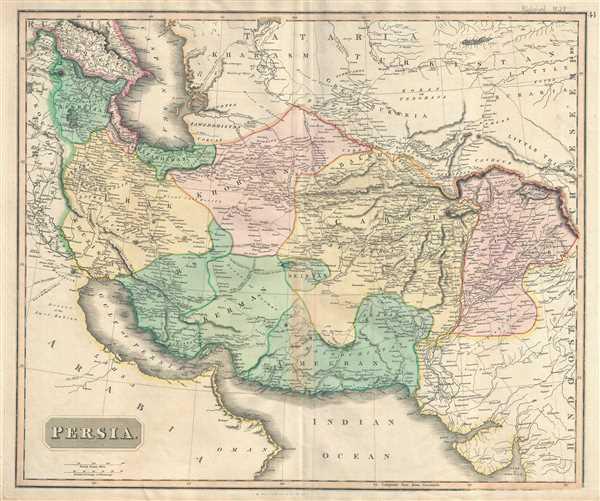 Persia Geographicus Rare Antique Maps