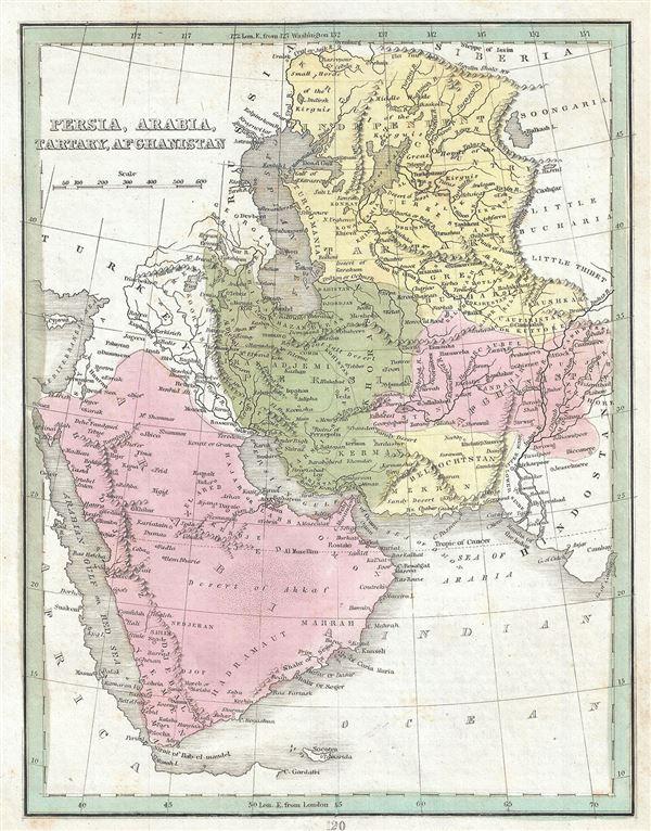 Persia, Arabia, Tartary, Afghanistan.
