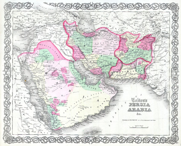 Colton's Persia Arabia - Main View