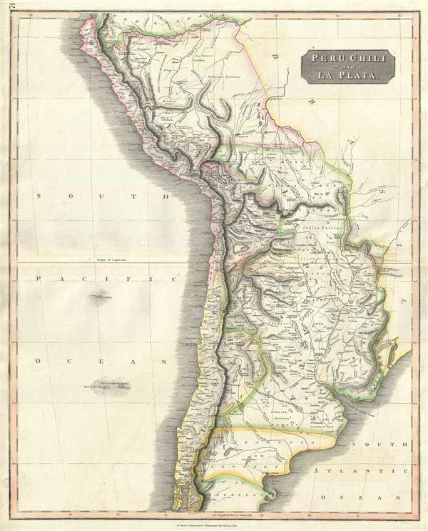 Peru, Chili and La Plata.