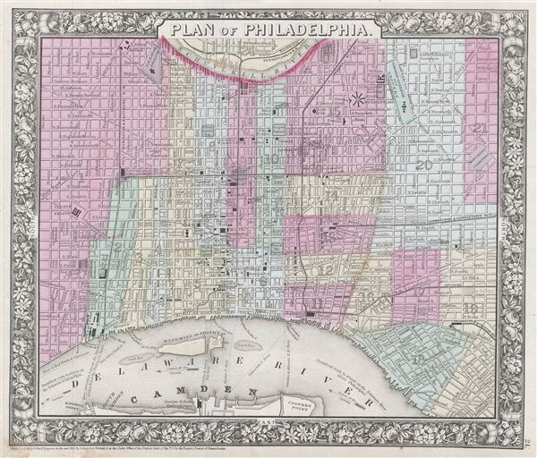 Plan of Philadelphia.