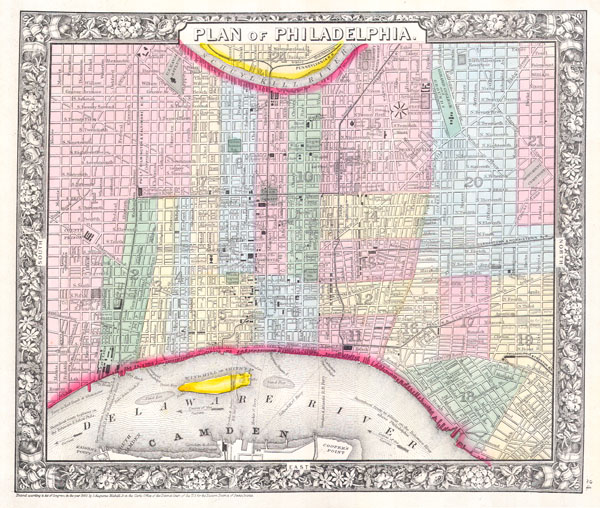 Plan of Philadelphia