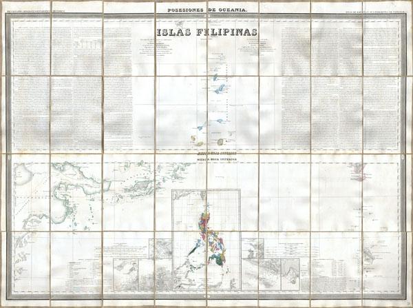 Islas Filipinas, Posesiones de Oceania - Main View